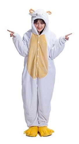 Adulto Kigurumi Anime Cosplay Outfit Pijamas Romper Ovejas