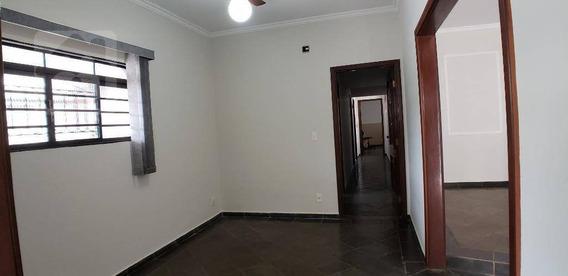 Casa Com 3 Dormitórios Para Alugar, 290 M² Por R$ 1.800/mês - Paraíso - Araçatuba/sp - Ca0879
