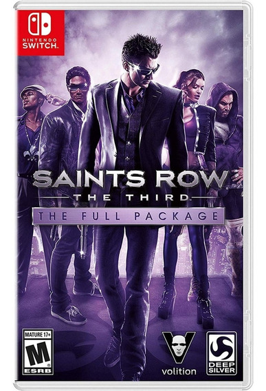 Saints Row The Third Switch Mídia Física Novo Lacrado