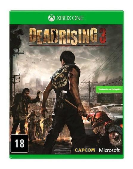 Jogo Dead Rising 3 Xbox One Midia Fisica Lacrado Nfe