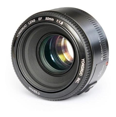Lente Auxiliar Enfoque Automatico Yn50mm F1.8c Canon
