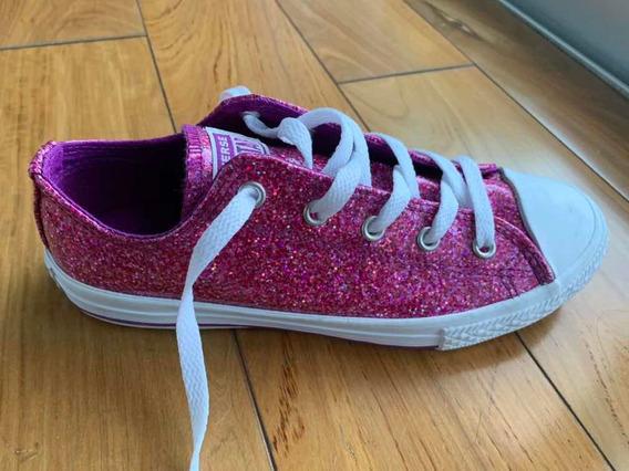 Zapatillas Converse All Star Glitter Talle 35.5