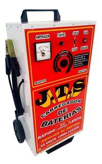 Carregador De Bateria 50a 12v C/ Auxiliar De Partida Jts-003