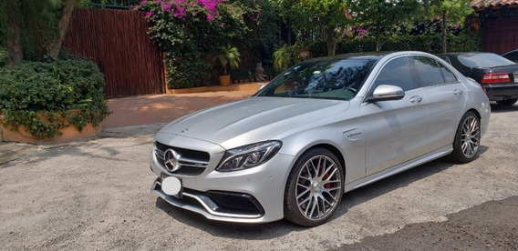 Solo Para Conocedores, Flamante Mercedes Benz C 63 S Amg