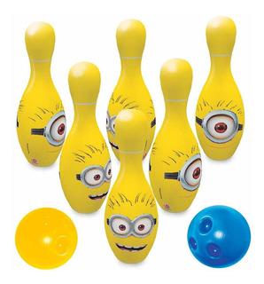 Jogo De Boliche Minions Amarelo Lider 2794