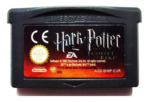 Harry Potter And The Goblet Of Fire En Español Nintendo Gba