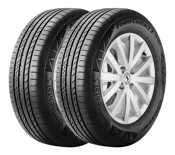 Kit 2 Cubiertas Continental 195/65 R15 Power Contact 2 91h C