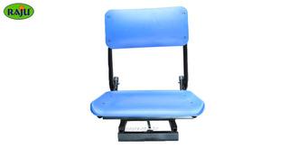 Cadeira Plástica Para Barco Dobrável Giratória 360° Raju
