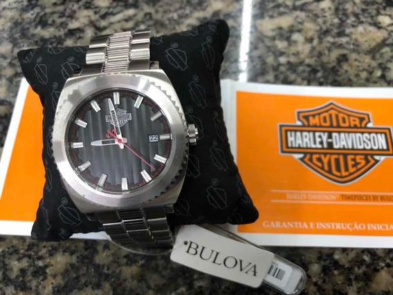 Relógio Bulova Harley Davidson Original Novo 01 Ano Garantia