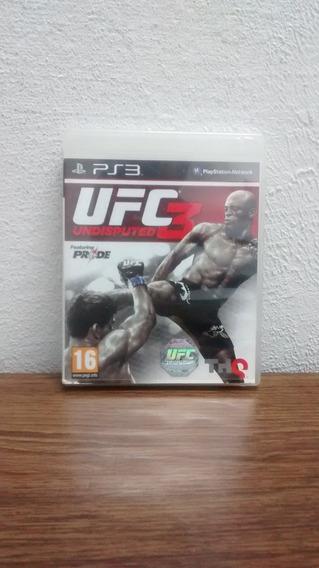 Jogo De Playstation3: Ufc Undisputed 3. Frete Grátis!