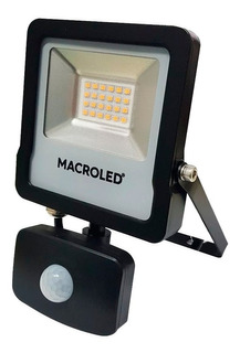 Pack X 2 Proyector Reflector Sensor Movimiento 50w Macroled
