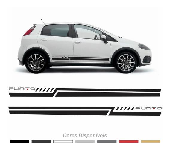 Adesivo Faixa Lateral Fiat Punto Imp127