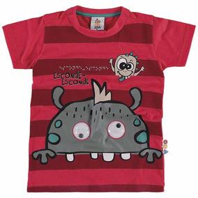 Camisa Infantil Masculino - Domani Kids