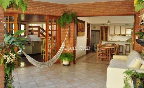 Casa Com 4 Dormitórios À Venda, 453 M² Por R$ 1.980.000,00 - Alphaville 04 - Santana De Parnaíba/sp - Ca1967