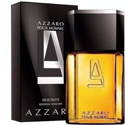 Perfume Azzaro Pour Homme 200ml Edt Frete Grátis Nota Fiscal