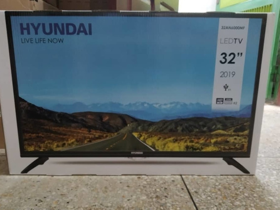 Televisor Led Hd Marca Hyundai Entradas Hdmi Y Usb Nuevo!