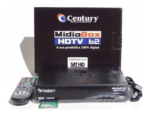 Receptor Digital Antenas Parabólicas Midiabox B2 Century Hd