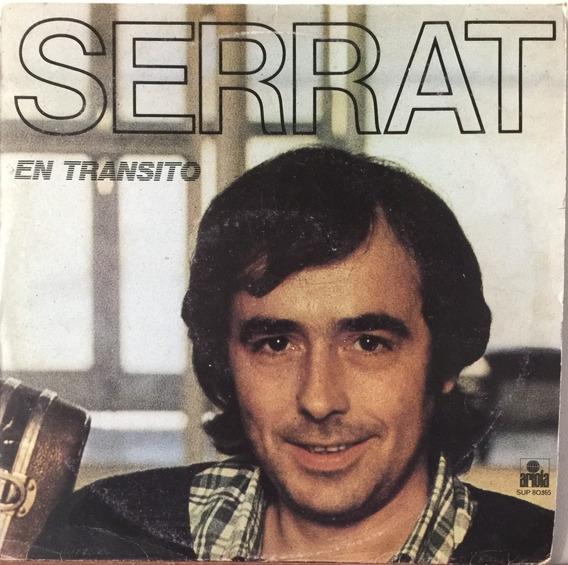 Joan Manuel Serrat - En Transito - Disco De Vinilo 1981