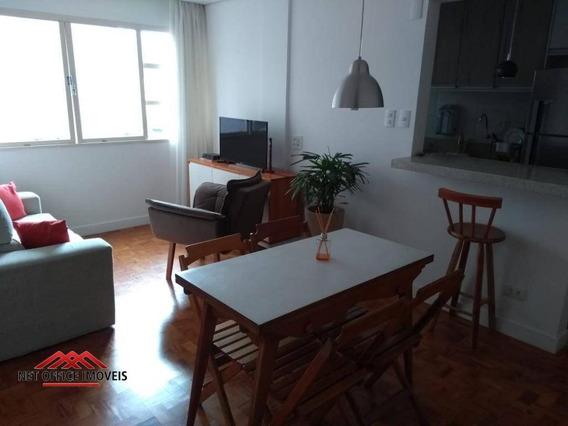 Apartamento Com 1 Dormitório À Venda, 48 M² Por R$ 215.000 - Edifício Alvorada - Vila Adyana - São José Dos Campos/sp - Ap1794