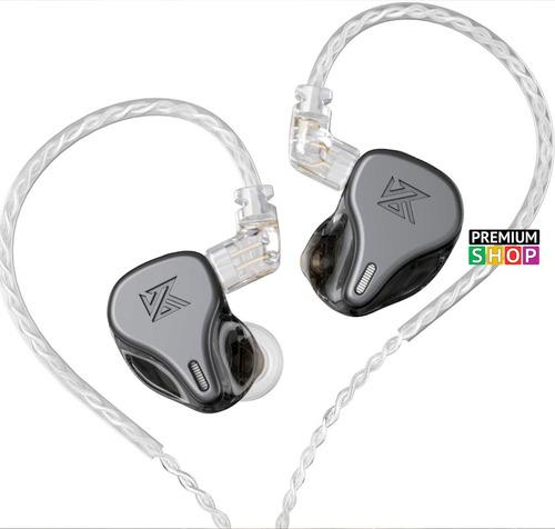 Imagen 1 de 6 de Auriculares In-ear Kz Dq6 Monitoreo 3 Vias X Lado Sin Mic