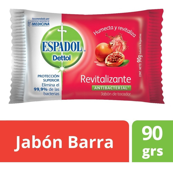 Espadol Dettol Revitalizante 90grs