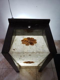 Lavabo De Marmol Con Espejo Y Luz