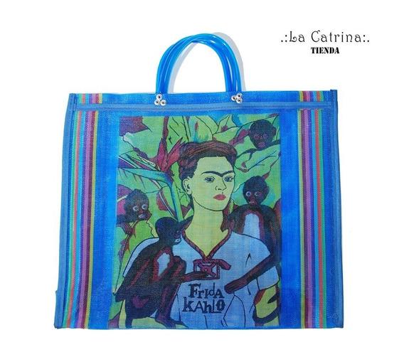 Bolsa Bolso Frida Kahlo, Matero, Playero