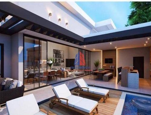 Casa Com 3 Dormitórios À Venda, 250 M² Por R$ 1.950.000,00 - Loteamento Residencial Jardim Villagio Ii - Americana/sp - Ca1587