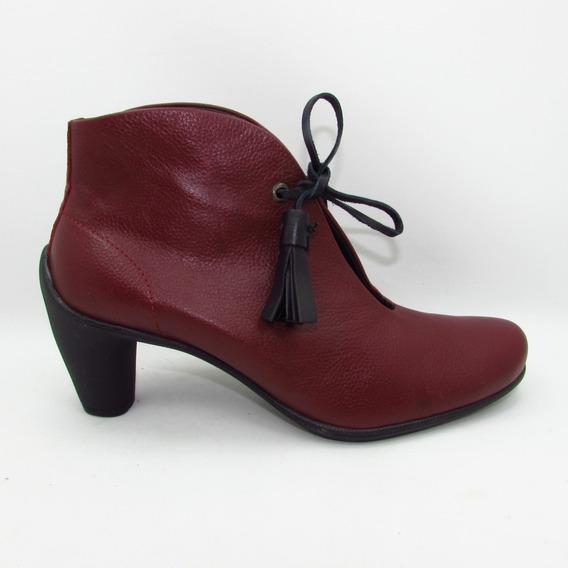 Zapato Julio De Mucha 34404 Piel Luxory 14-16 Escarlata