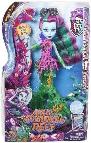 Monster High Posea Reef Barreira De Coral Mattel