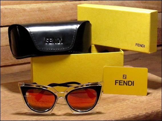 Óculos De Sol Fendi Orchidea Unisexx Já No Brasil °0958°