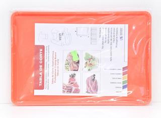 Tabla De Corte Gastronomica 20x30 Multiuso Naranja