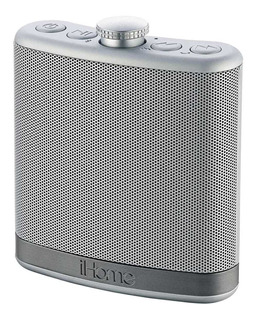 Ihome Ibt12sc Rechargeable Flask Shaped Bluetooth Stereo...
