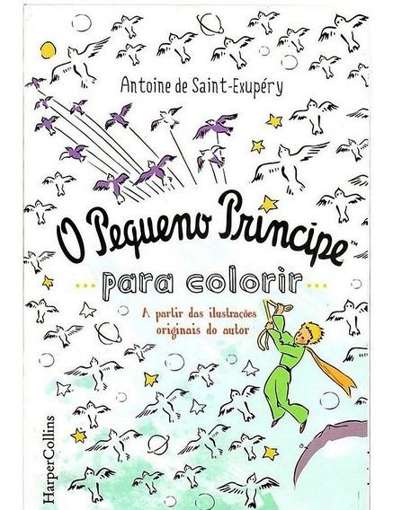 O Pequeno Príncipe Colorir Através Das Ilustrações Originais