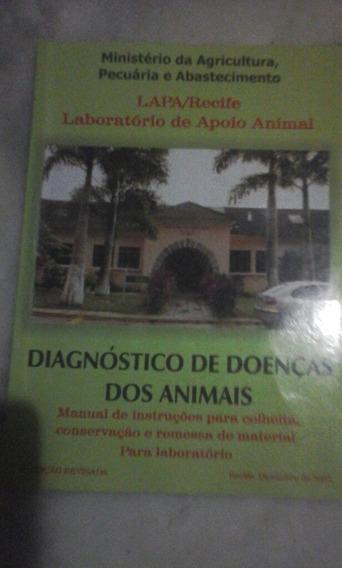 Livro Diagnóstico De Doencas Dos Animais-manual De Instru.