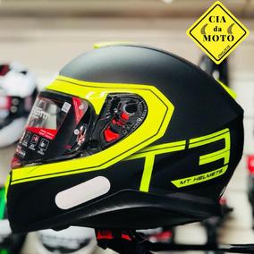Capacete Mt Thunder 3 Lançamento Moto Motociclista Top