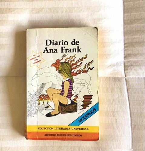Imagen 1 de 9 de Libro Diario De Ana Frank  - Original - Usado $4500