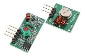 Modulo Rf Transmissor Receptor 433 Mhz Arduino