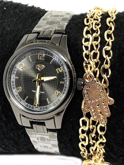 Kit Relógios Emli Feminino Barato 100% Original Promoção