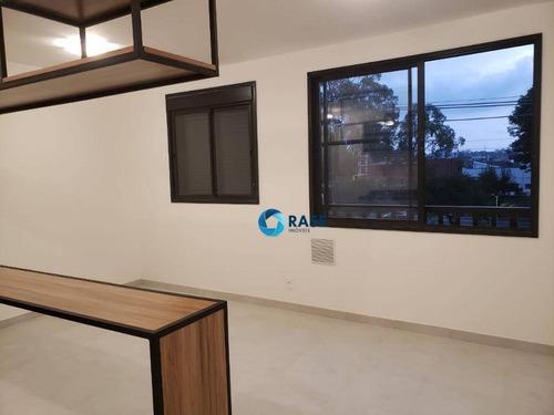 Apartamento Com 1 Dormitório Para Alugar, 35 M² Por R$ 1.900/mês - Jurubatuba - São Paulo/sp - Ap11898