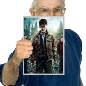 Harry Potter Filmes Series Painel Festa Aniverssário A4 17