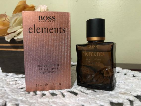 Boss Elements Vintage 50ml Raríssimo