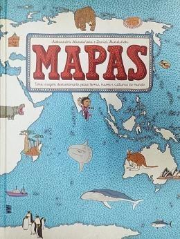 Mapas - Uma Viagem Deslumbrante Pelas Terras, Mare
