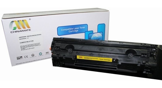 Toner Hp Compatível Chinamate Cb 435 / 436 / 285 A Universal