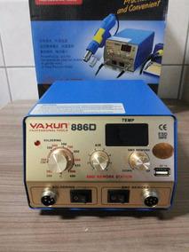 Estação De Solda E Retrabalho Yaxun 886 D 110v
