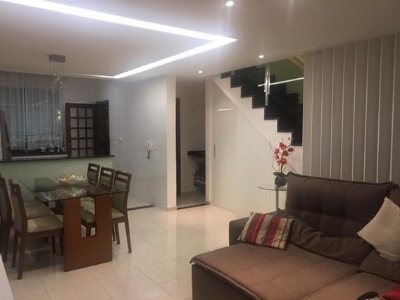 Casa Geminada Com 3 Quartos Para Comprar No Castelo Em Belo Horizonte/mg - 21683
