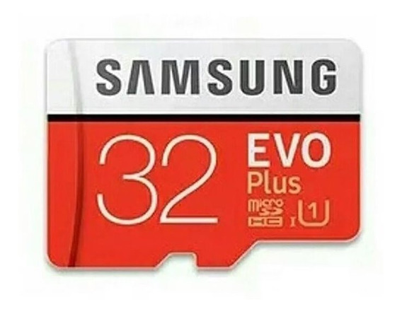 Cartão Micro Sd Fhd 32 Gb Sansung Classe 10 Evo Plus 95 Mb/s