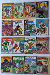 Grandes Heróis Marvel 1983 Ed: Abril 01, 03 Ao 38 Hq Gibi