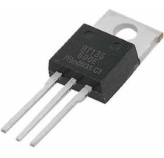 Triac Bt136e, 4a, 600v