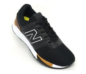 Promoção Tênis New Balance 247 Revlite Preto E Caramelo